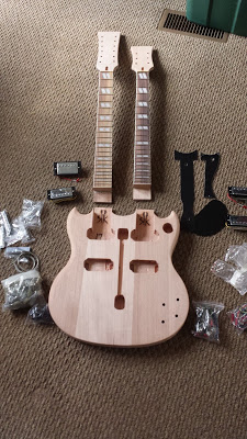 Double-neck guitar kit