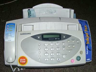 Picture of fax machine. Credit: Wikimedia