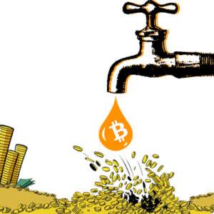 Bitcoin faucet (Credit: NicePNG.com)